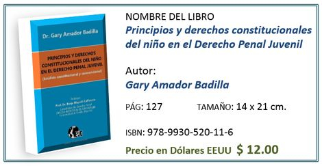 Costo del libro para Costa Rica ¢6.000,°°