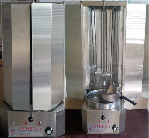 Our newly designed broiler machines.