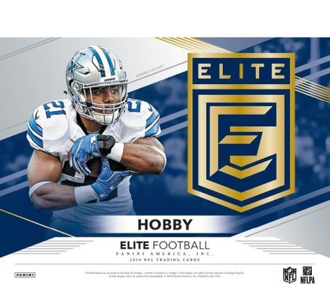 2019 Panini Elite NFL Football Hobby