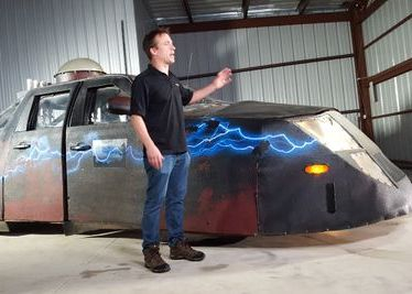 Storm Chaser in Oklahoma  for CNBC