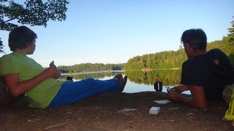 Wilderness Canoe Trips - Poker Lakes & Frost Centre