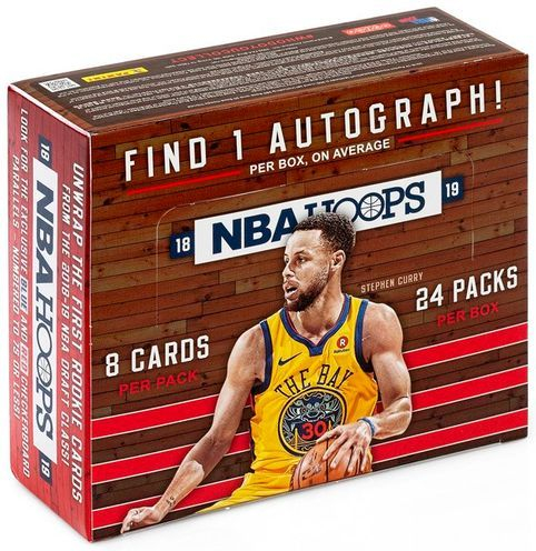 2018-19 Hoops Retail Box