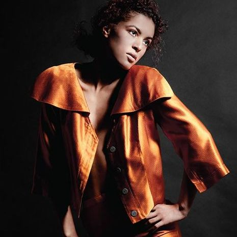 Linger Magazine editorial featuring the Eria Jacket designed by Amy Marie Goetz Fashion
