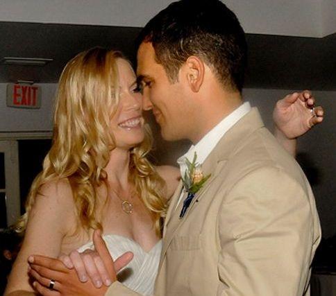 A Very Happy Bride and Groom