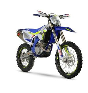 Sherco SEF 250 Factory Front Side View