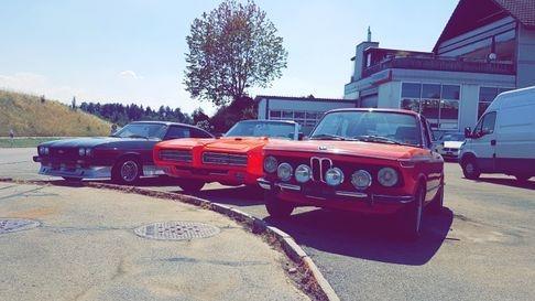 BMW 2002tii, Ford Capri und Pontiac GTO