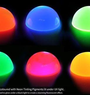 neon colour pigments