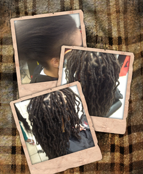 INSTANTLOC DREAD EXTENSIONS REPAIRS EDGES AND GIVES YOU A FULL PERMANENT HEAD OF DREADLOCKS