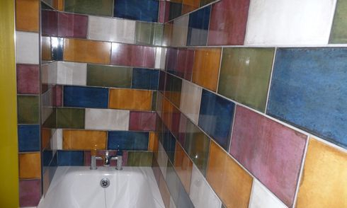 ceramic tile, custom job