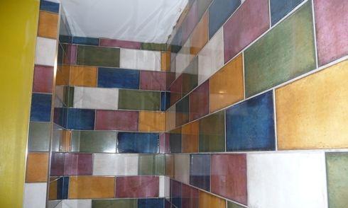 ceramic bathroom, installation