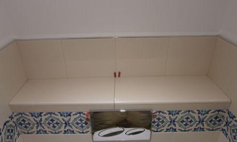 porcelain access panel