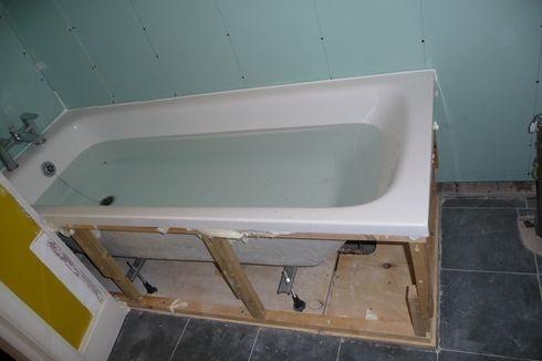 Reinforced bath