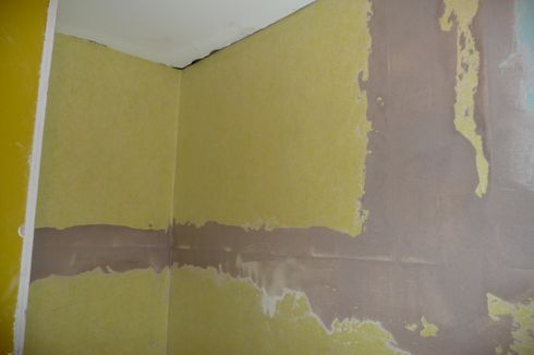Waterproofing walls, membrane used
