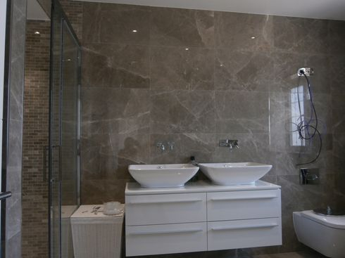 marble narrow grout joints