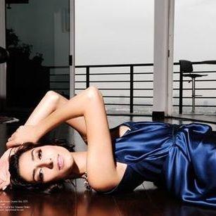 Regard Magazine featuring  Bravo TV Girlfriends Guide To Divorce Star Necar Zadegan wearing the Giselle Dress by Amy Marie Goetz Fashion