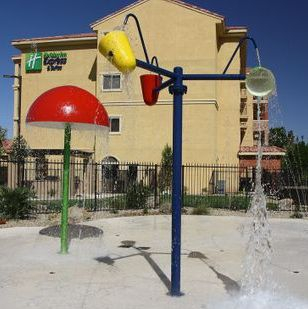 Commercial design-build splash pad project Mesquite, NV