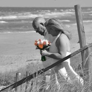 The Ceremony   Beach Wedding Si Como No Inn