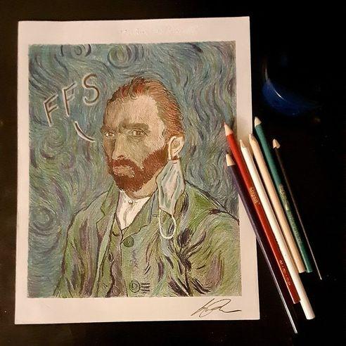 dos Ramos Studio Van Gogh's 2020 Dilemma