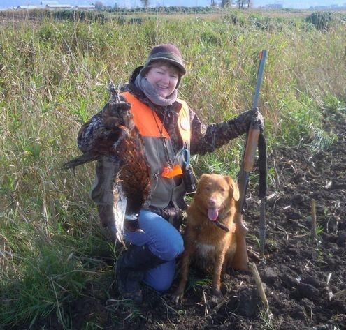 First pheasant of the season