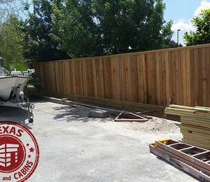 150x7tall txsc wood fence
