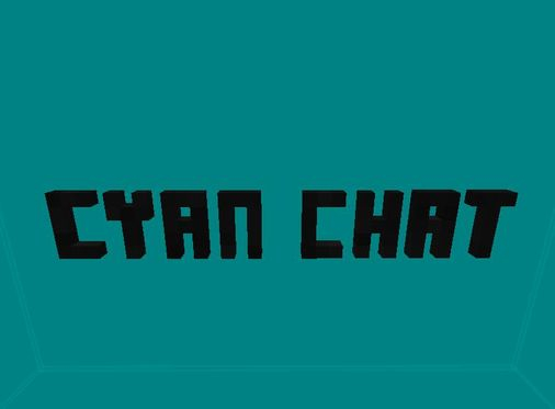 Welcome to Cyan Chat, the website used for making friends!