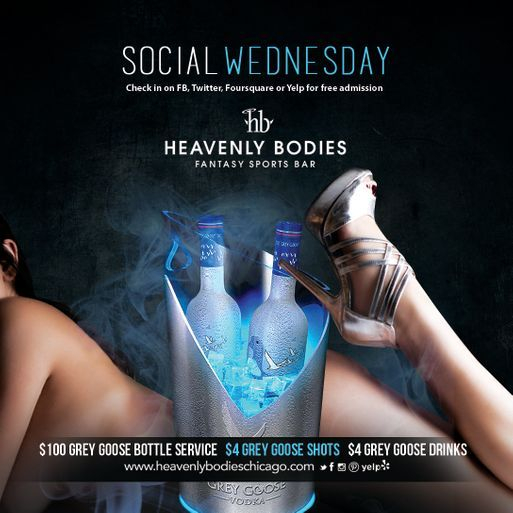 Social Wednesdays Heavenly Bodies