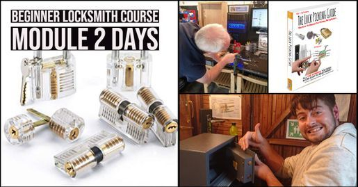locksmith training, master locksmith, beginner locksmith training, training course, advertisement, logo,