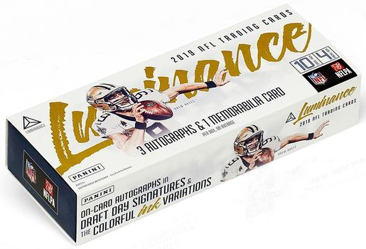2019 Panini Luminance NFL Football Hobby
