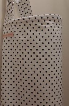 Polka Dot Breastfeeding Cover by Littlebuttercups