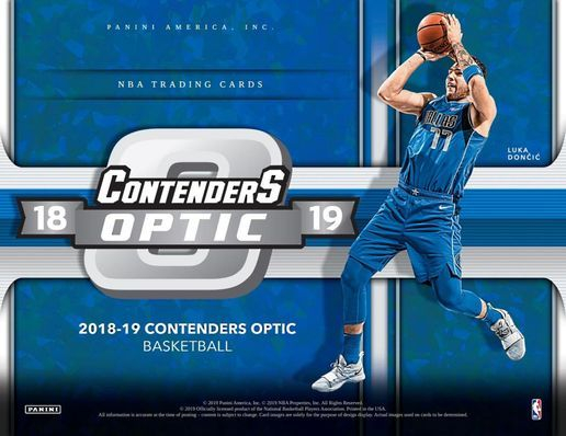 Contenders Optic Basketball Hobby Box