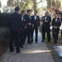 Preparing for wedding