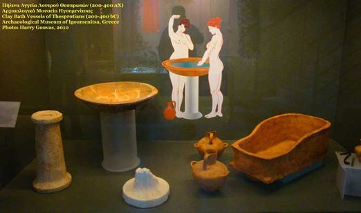 Bath Vessels in Ancient Greece