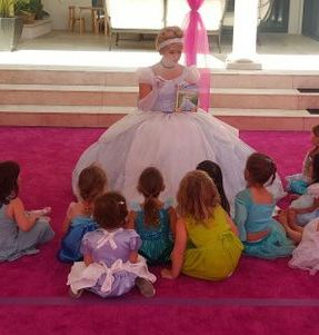 summer camp princess los angeles character company cinderella kids