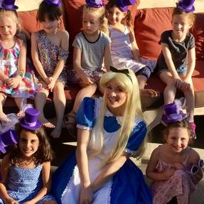 kids party birthday ideas los angeles alice wonderland