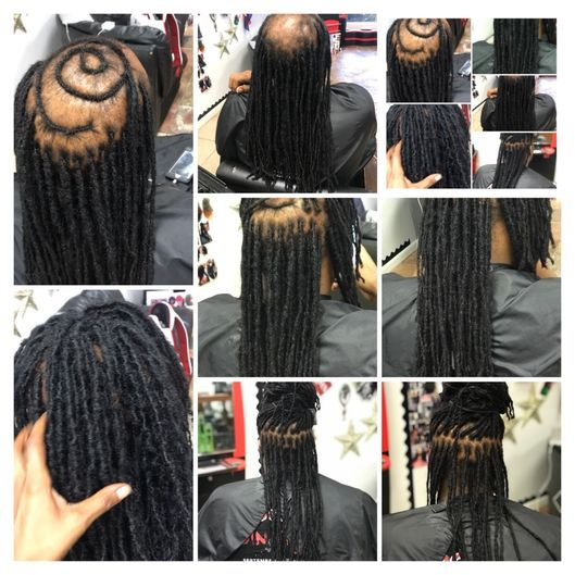 Braids by Bee invented custom hair units for those with dreadlocks that needs coverage.