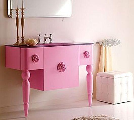 móvel laqueção rosa