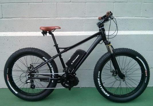 electric mid drive bike