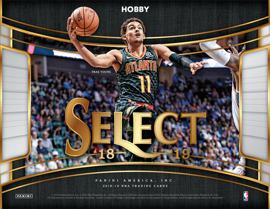 2018-19  SELECT Basketball Hobby Box