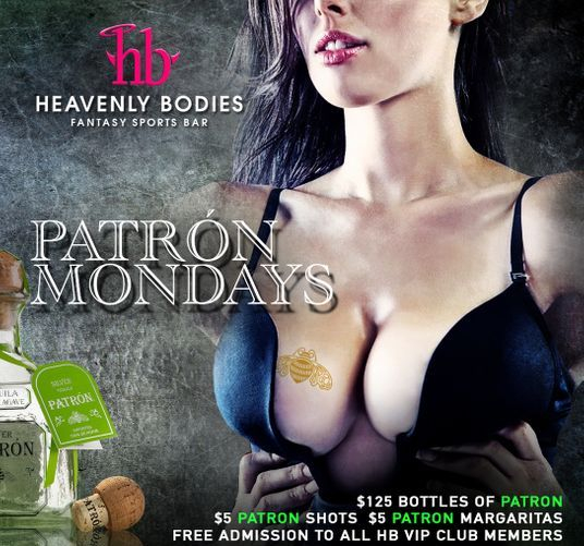 Patron Mondays Heavenly Bodies