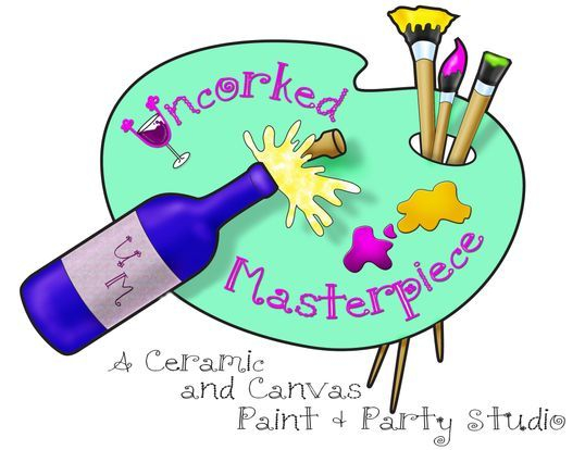 Ceramic and Canvas Paint and Party Studio Winston Salem, NC