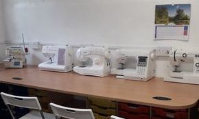 Sewing Machine training facilities and workshop
