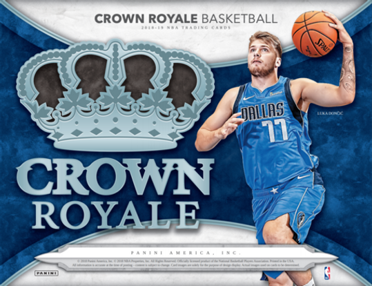 2018-19  Crown Royale basketball Hobby Box
