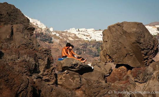 Santorini, love moments, this is how human evolution started, science says