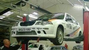 MGZS Race Car build