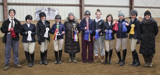 IEA Team phots after championship win