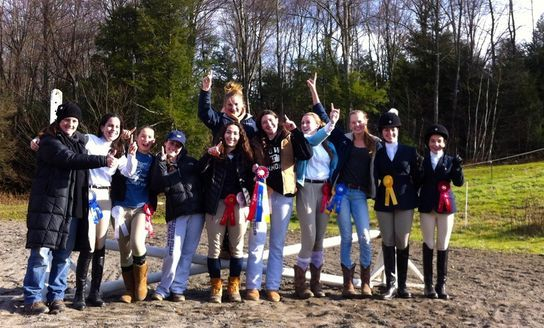 The Williston Team Team champioship win at Biscuit Hill