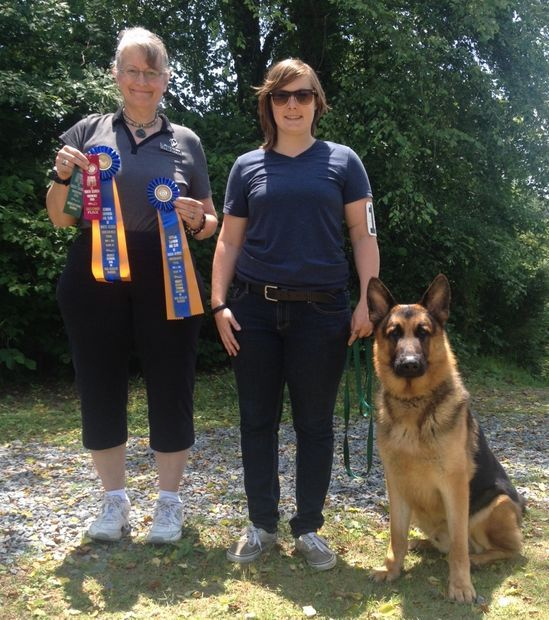 Appleridge Deacon obedience title