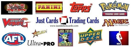 Just Cards Trading Cards banner