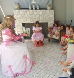 sleeping beauty story time princess character kids company los angeles