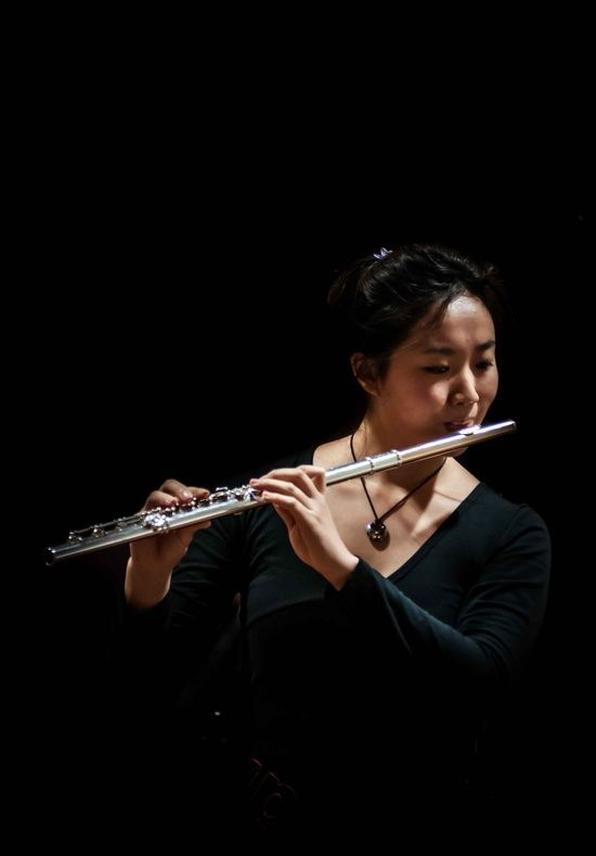 Photo by Richard Wong. Viola & Flute recital, Melbourne, 30/06/2012
